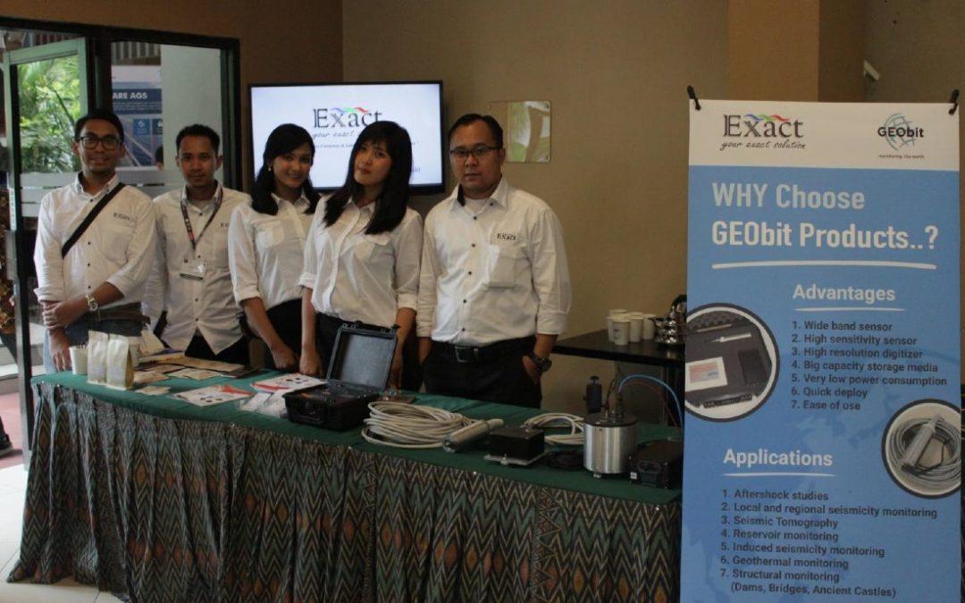 Exact & Geobit at EAGE-HAGI Indonesia 2018