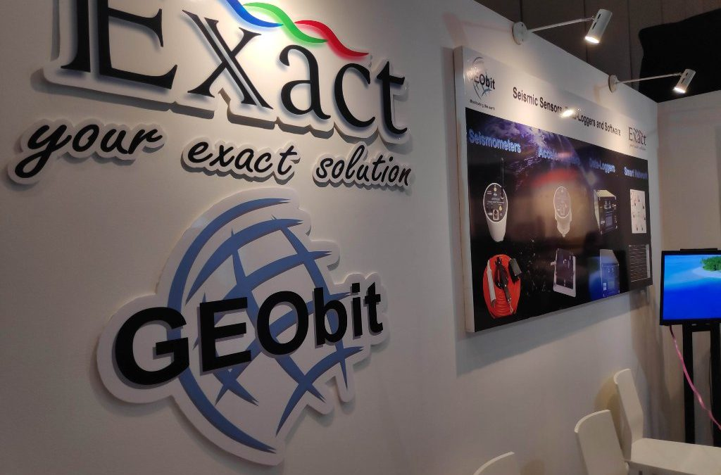 Geobit's awarded booth in HAGI 2019